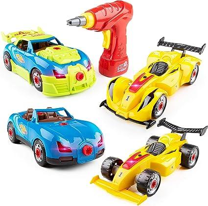 Build A Car >> Amazon Com Usa Toyz Kid Nitro Race Car Take Apart Toys