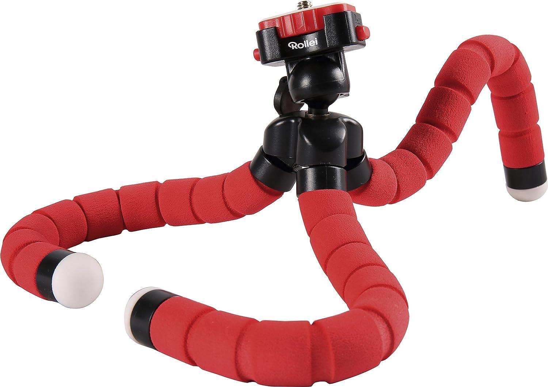 Rollei Monkey Pod Mini Trípode flexible compacto y ajustable con cabeza esférica
