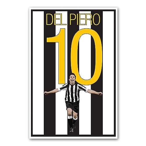 Alessandro Del Piero Juventus Italy World Cup Poster