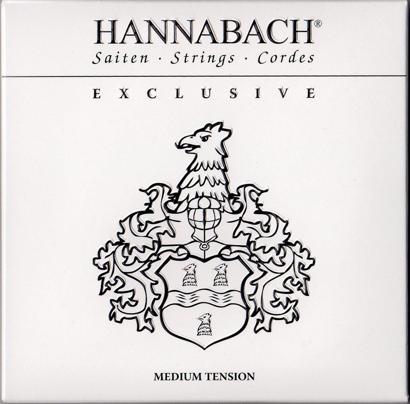 Hannabach 652737.0 - Cuerdas de alta gama para guitarras