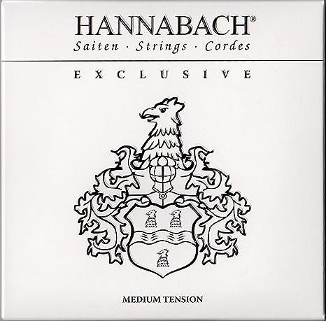 Hannabach 652737.0 - Cuerdas de alta gama para guitarras: Amazon ...