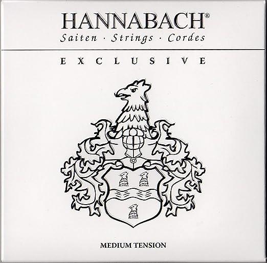 Hannabach Corde per chitarra classica Serie 500 Medium Tension Set 500MT