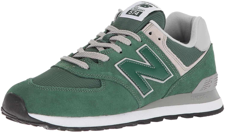 New Balance 574, Zapatillas para Hombre 45 EU|Verde (Forest Green)