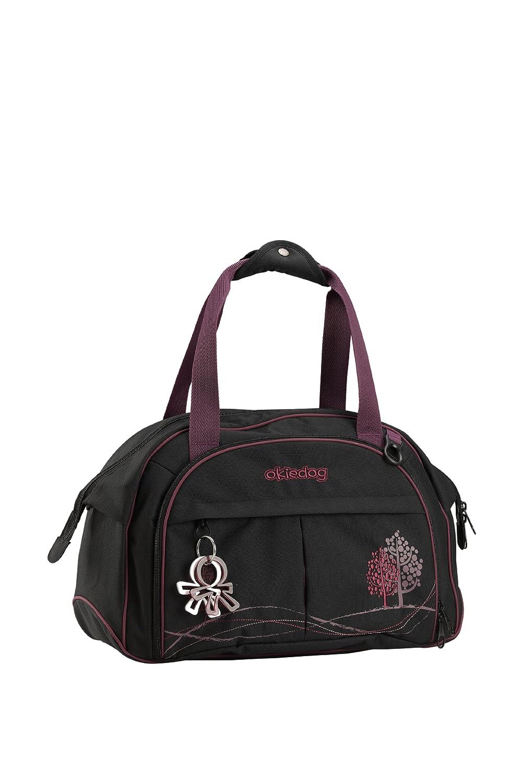 Okiedog, bolsa de pañales Shuttle, Poliéster, Rojo (coral) 35001