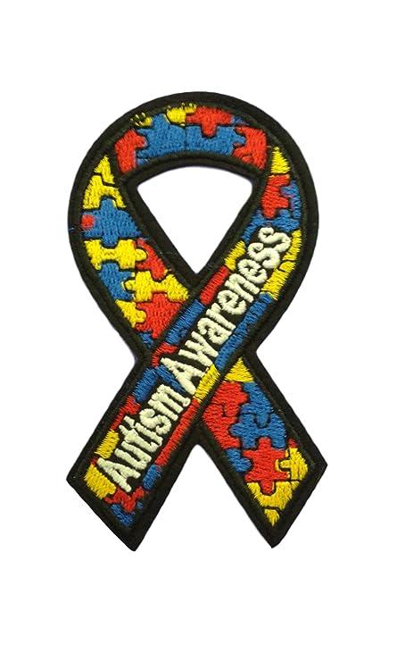 Amazon Autism Awareness Iron On Patch Applique Ribbon Motif