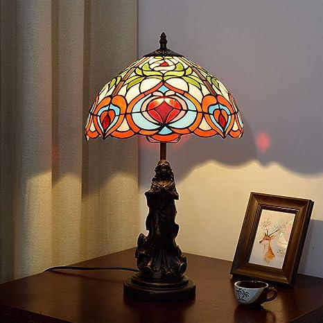 GoYisi Lámparas de escritorio, YWXLight creativo retro manchado ...