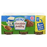 Heinz Chocolate Pudding, 4-36 Months, 6 x 120g