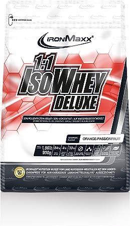 IronmaXX 1:1 IsoWhey Deluxe Proteína en polvo multicomponente ...
