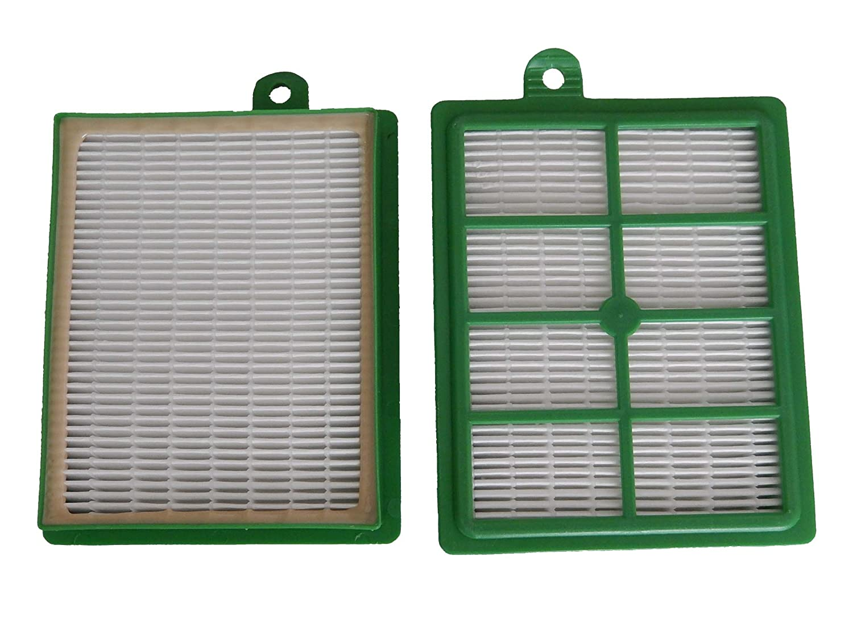 vhbw Ersatz Hepa Allergie Filter Set AEG Cyclone XL ACX 6200, ACX 6201, ACX 6202, ACX 6203, ACX 6204, ACX 6205, ACX 6206 wie AEF 12, H12. VHBW4251156542012