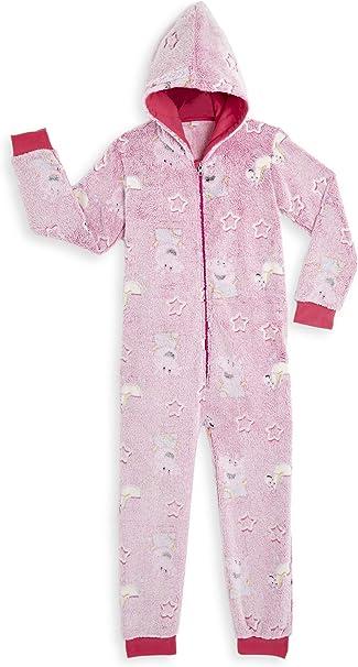 Peppa Pig Pijamas Enteros Rosa Diseño Peppa Unicornio Que Brilla ...