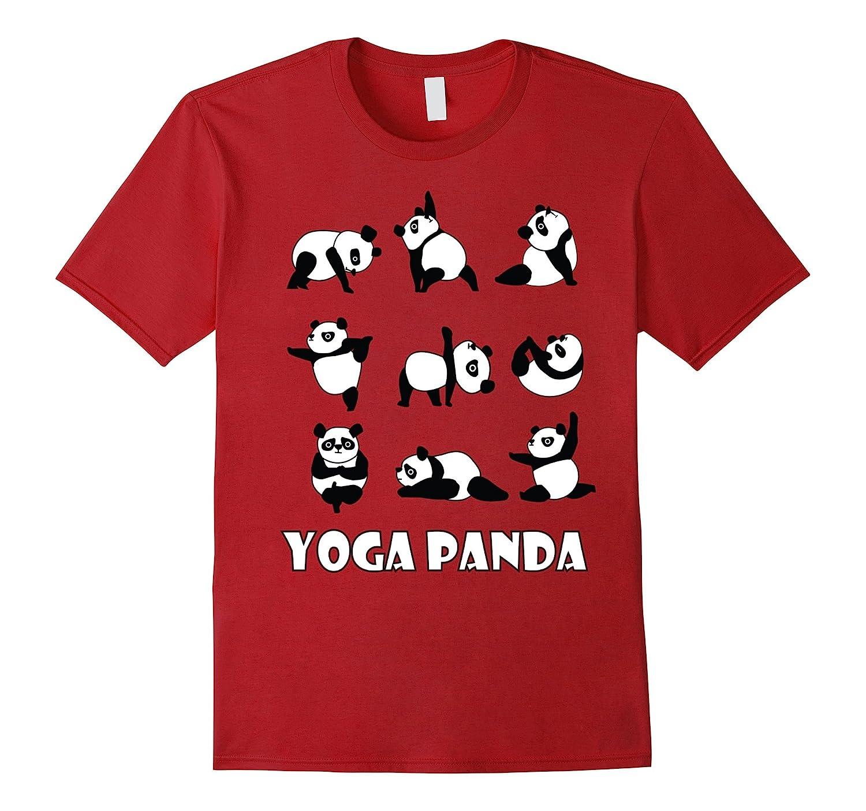 Yoga Panda | Cute Bear T-Shirt for Zen, Spiritual Pet Lovers-ah my shirt one gift
