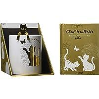 Chat'touillette : Coffret livre + mug + touillette