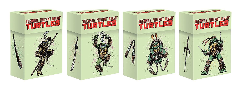 IDW Games Teenage Mutant Ninja Turtles Set of 4 Card Deck Boxes