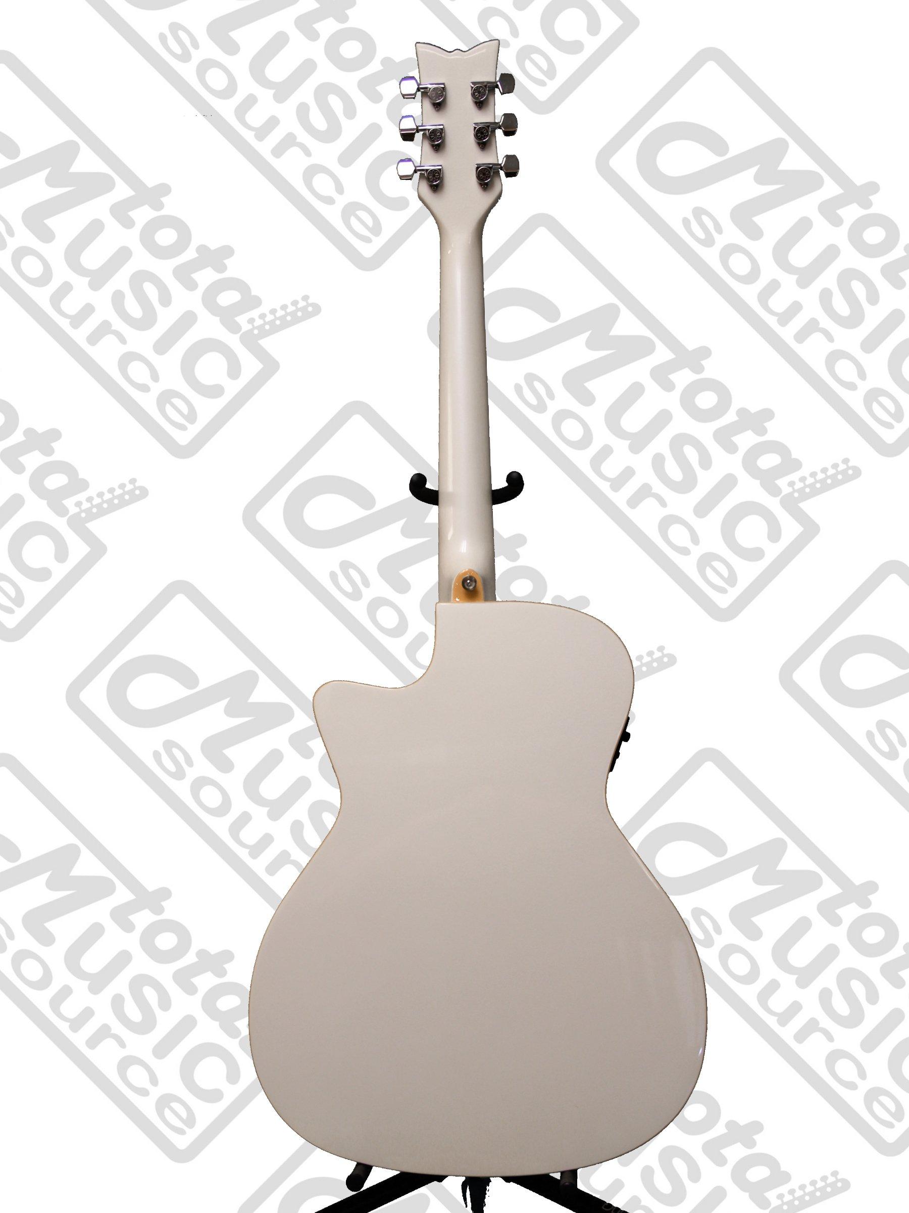 Daisy Rock Wildwood Artist A/E Guitar, Fishman Piezo Pickup, Pearl, DR-6274 by Daisy Rock