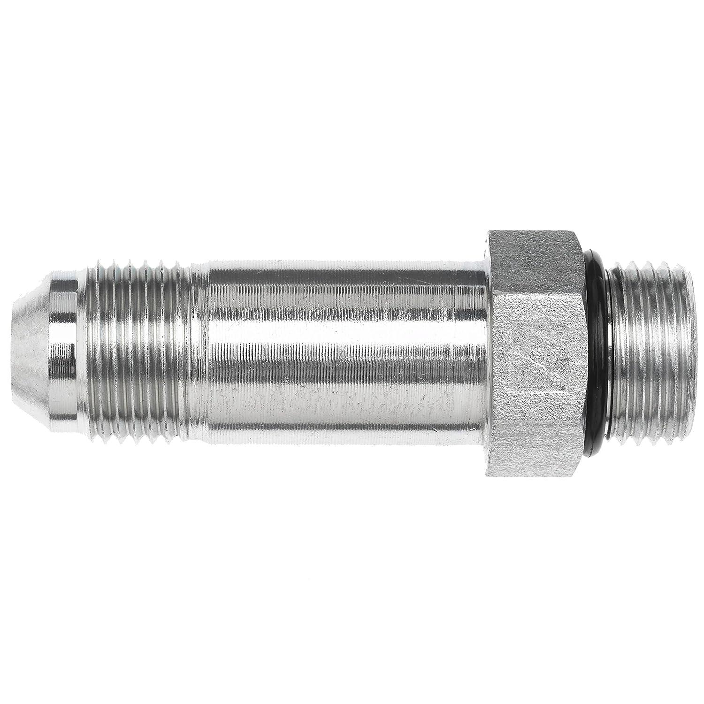 3//4 Male JIC x 3//4 Male O-Ring Boss 1-1//16-12 SAE x 7//8-14 SAE ORB Thread 3//4 Male JIC x 3//4 Male O-Ring Boss Inc. Brennan Industries 6400-L-12-10-O Steel Straight Long Tube Fitting 1-1//16-12 SAE x 7//8-14 SAE ORB Thread