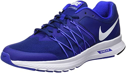 cheap for discount 50652 f7399 Nike Mens Air Relentless 6 Running Shoes, 7.5 Blue