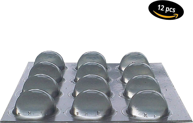 muebles tamp/ón tope amortiguador /Ø 7 mm 100 pieza parada b/úferes auta-adhesivo transparente