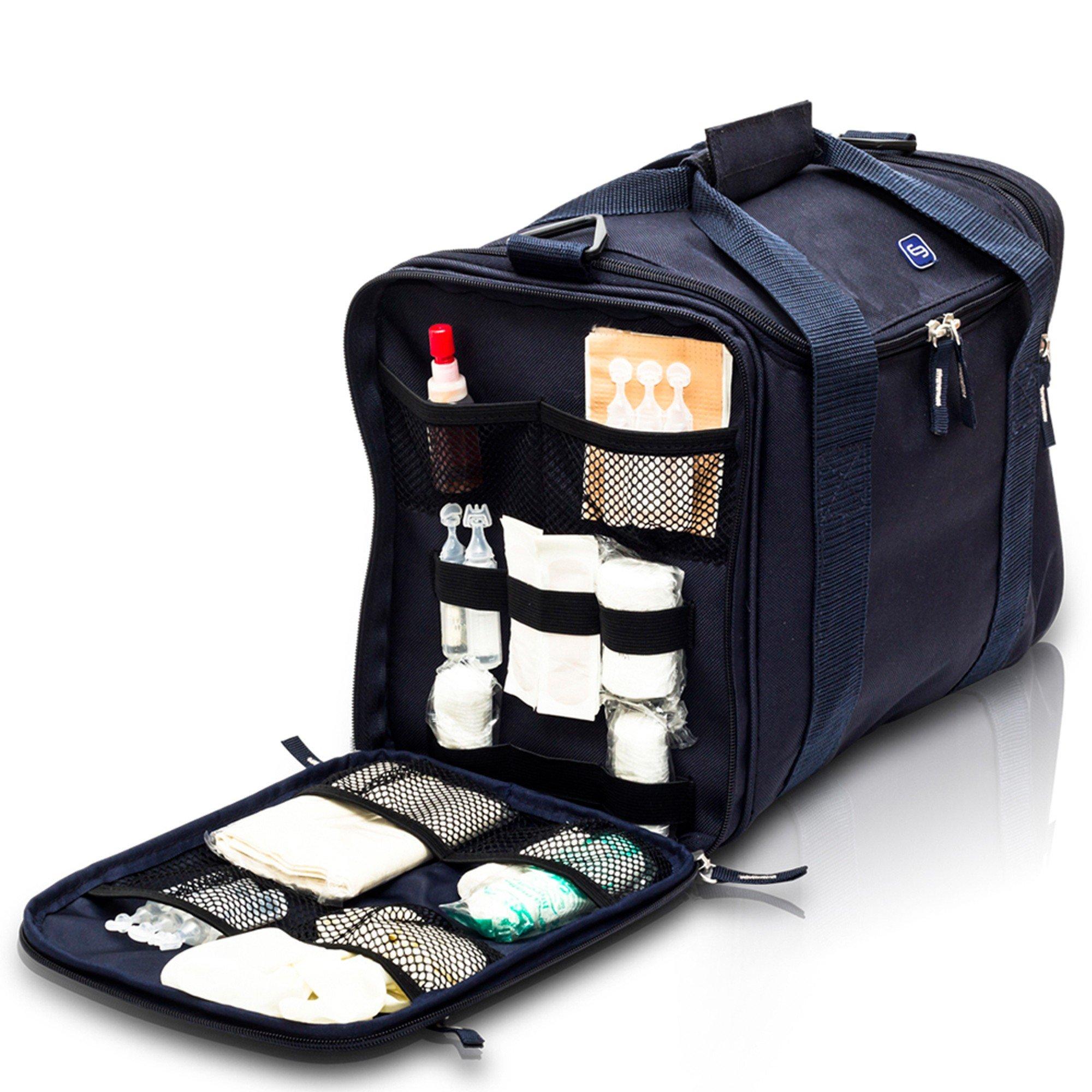 JUMBLE'S| First-aid bag | Mochila Botiquín de primeros auxilios, Modelo Jumbles, en color rojo (Black) by Elite Bags