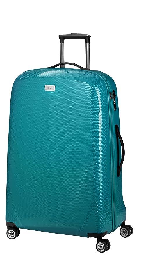 Set de 3 maletas 8 dn700 05 de verde 52/65/75 cm ABS