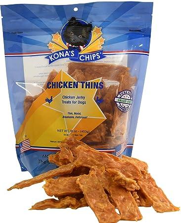 KONA S CHIPS Chicken Thins Dog Treats