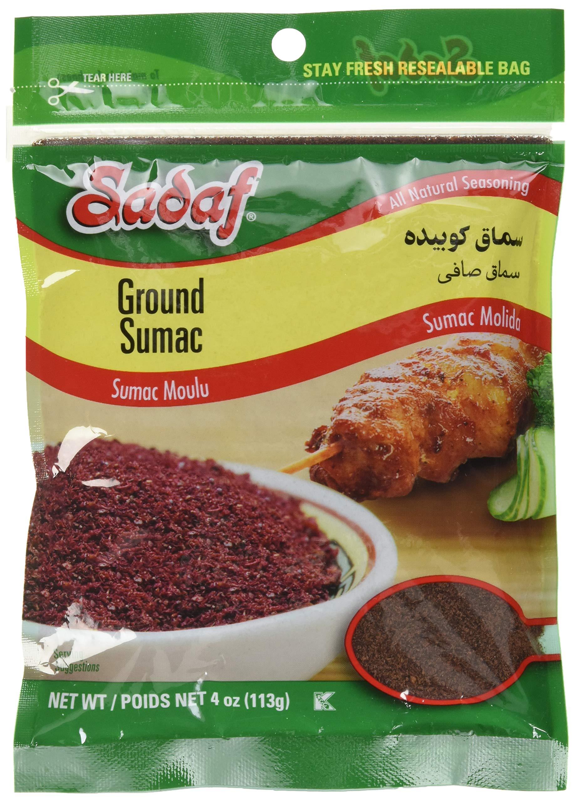 Sadaf Ground Sumac - 4oz (Pack of 2)