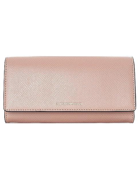 Emporio Armani - Cartera para mujer Mujer Rosa Size: talla de un talla: Amazon.es: Zapatos y complementos
