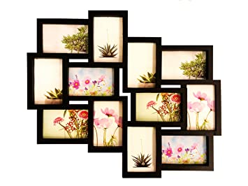 Amazoncom Bestbuy Frames Wall Hanging Collage Picture Frame Black