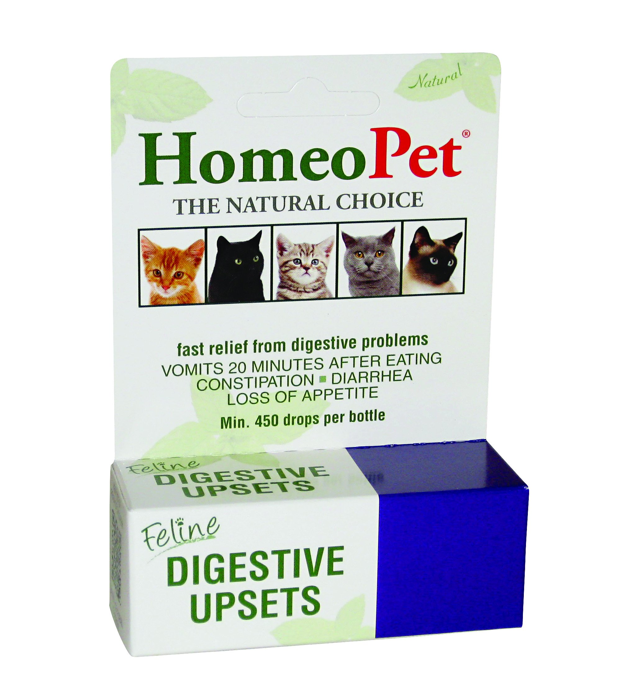 HomeoPet Feline Digestive Upsets by HomeoPet