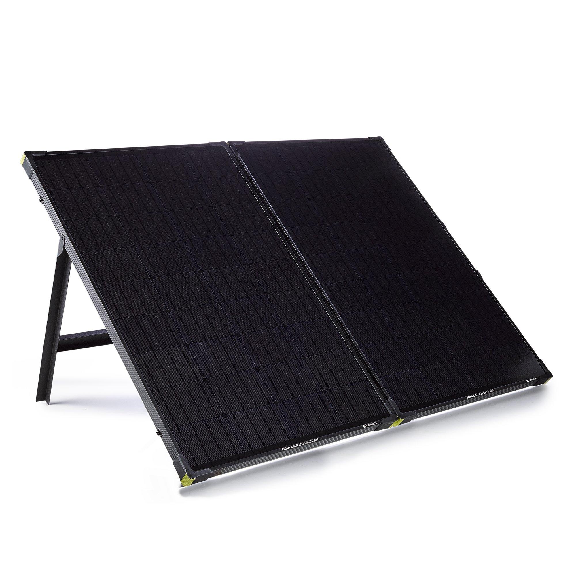 Goal Zero Boulder 200 Watt Briefcase Monocrystalline Solar Panel by Goal Zero
