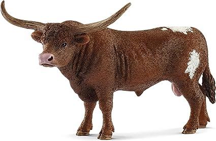 Schleich Texas Long Horn Cow