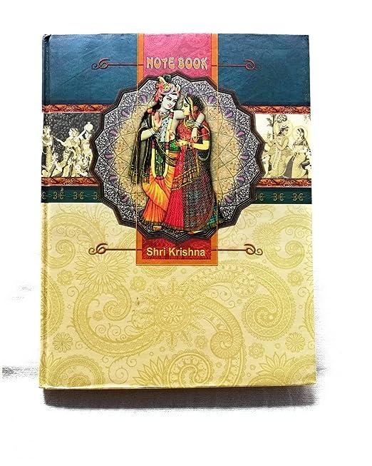 Krishna Diary(Note Book) From VRINDAVAN (nescafe)