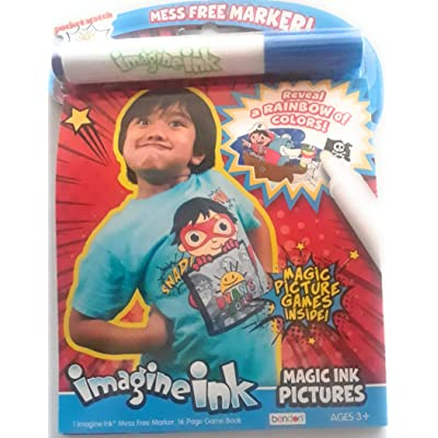 Imagine Ink bendo Ryan's World: Toys & Games