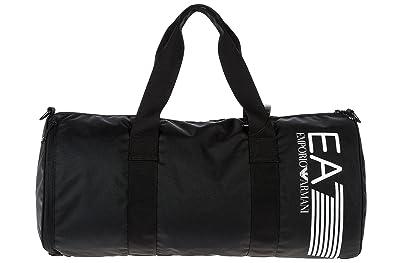 Emporio Armani EA7 sac de sports homme bandoulière en Nylon train  visibility noi 9498e72f5e88