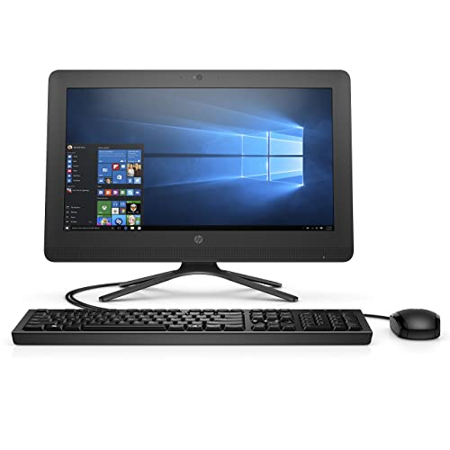 HP 20-C010IL Full HD 19.5 Inch Desktop (Jack Black) Intel Pentium J3710, 4GB RAM, 1TB HDD, DVD Writer, Bluetooth, WiFi, Free DOS, Intel HD Graphics