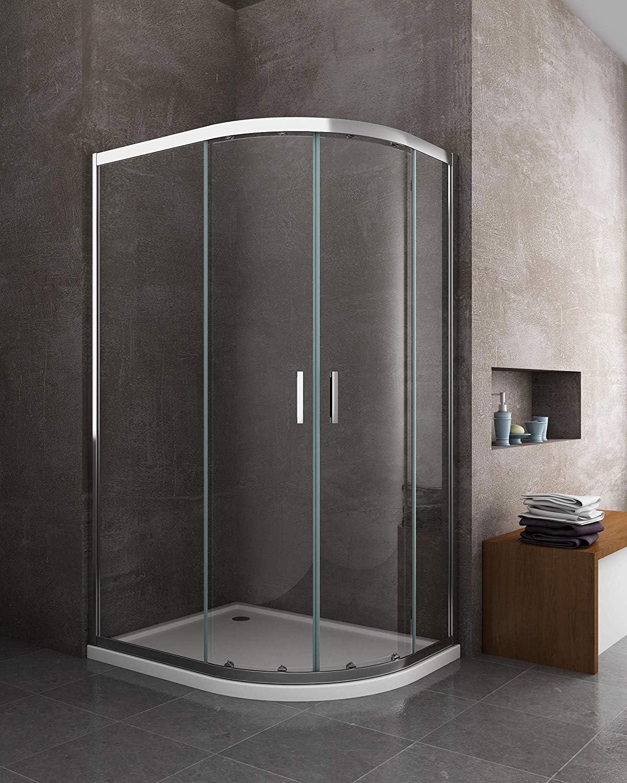 Laneri - Mampara de ducha y plato de ducha de ABS, curva ...
