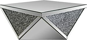 ACME Furniture 82770 Noralie Mirrored Coffee Table