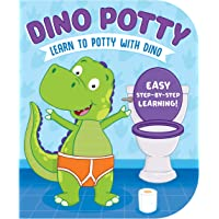 Dino Potty-Engaging Illustrations and Fun, Step-by-Step Rhyming Instructions get Little Ones Excited to Use the Potty on…