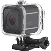 Deyard Waterproof Housing Standard Protective Case for GoPro Hero 5 Session Hero 4 Session Camcorder with Bracket & Screw