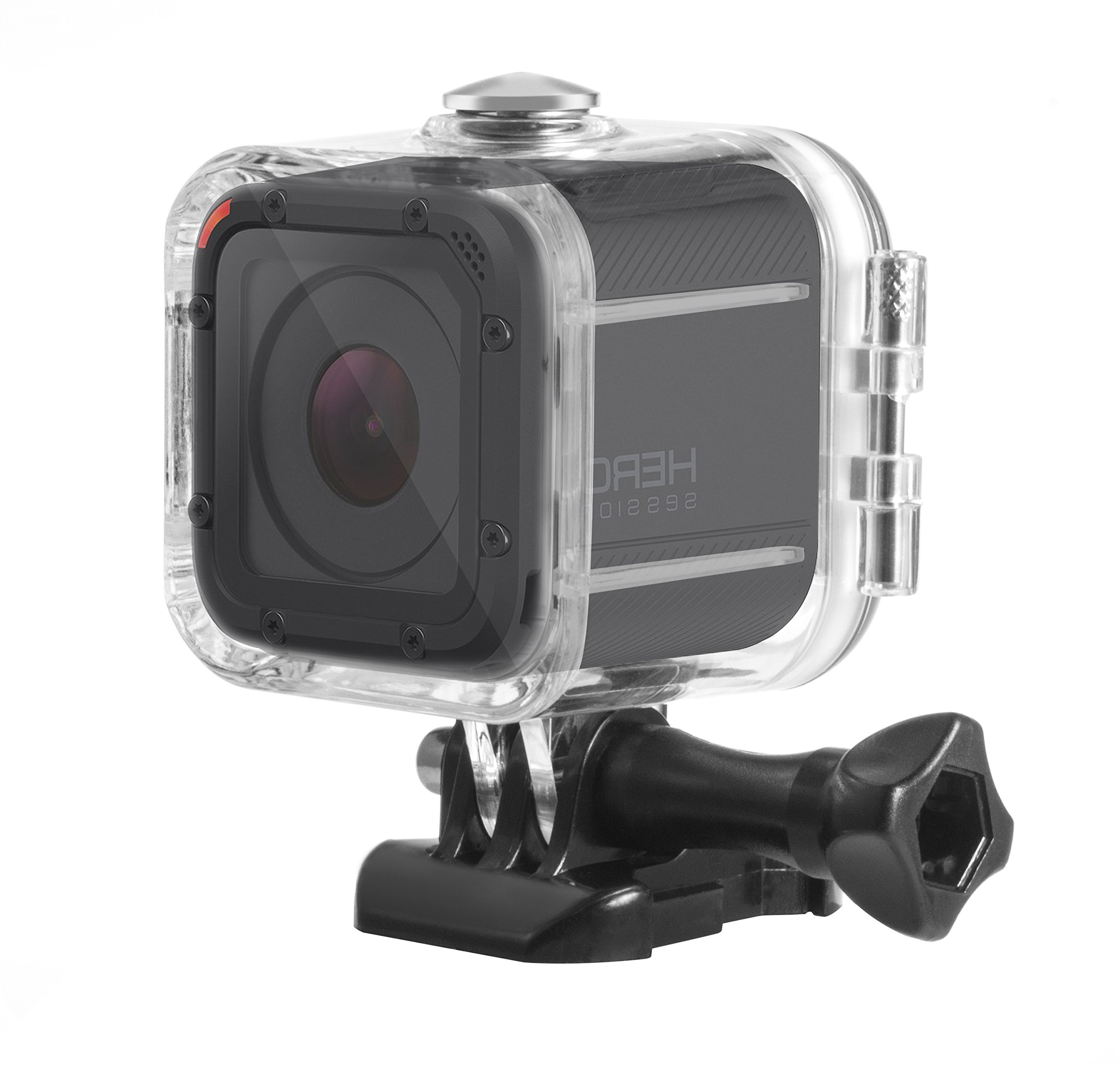 Deyard 45M Dive Housing Case for GoPro Hero 5 Session/Hero Session/Hero 4 Session Waterproof Case Diving Protective Shell with Bracket Accessories Kit for GoPro Hero5 Session & Hero Session by Deyard
