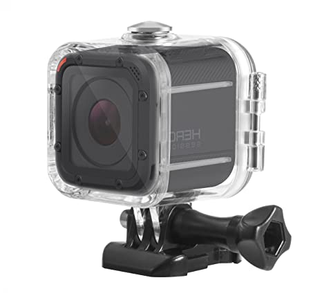 Deyard 45M Dive Housing Case for GoPro Hero 5 Session/Hero Session/Hero 4 Session Waterproof Case Diving Protective Shell with Bracket Accessories Kit ...