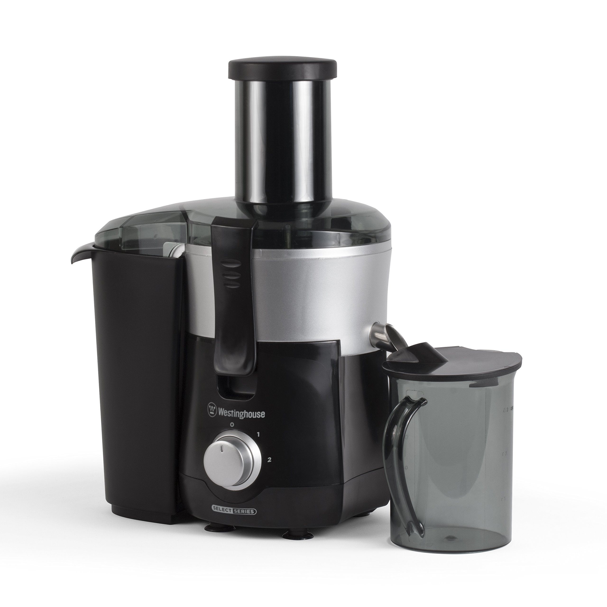 Westinghouse COMINHKPR100901 WJE2BSLA Select Series 2 Speed Fruit & Vegetable Juice Extractor with Custom Pitcher, Black by Westinghouse (Image #2)