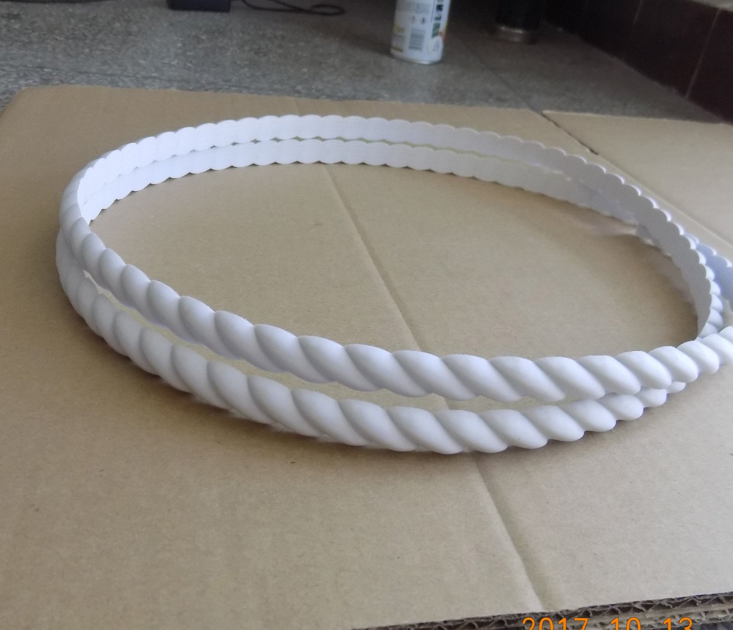 Flexible Moulding Rope Decorative Door Cabinets Wardrobes Drawers Furniture Molding Trim 1cm x 15 Foot (15')