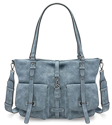b1c4119ee319c Tamaris Bernadette Shopping Bag Denim  Amazon.de  Schuhe   Handtaschen