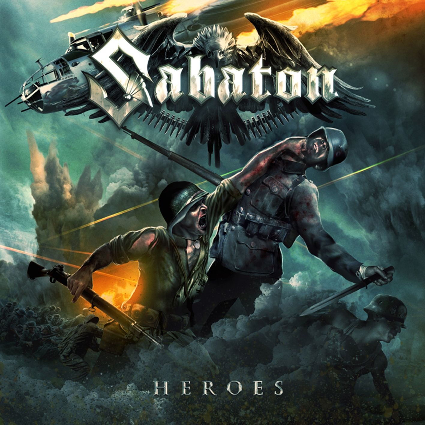 CD : Sabaton - Heroes (CD) {OU}