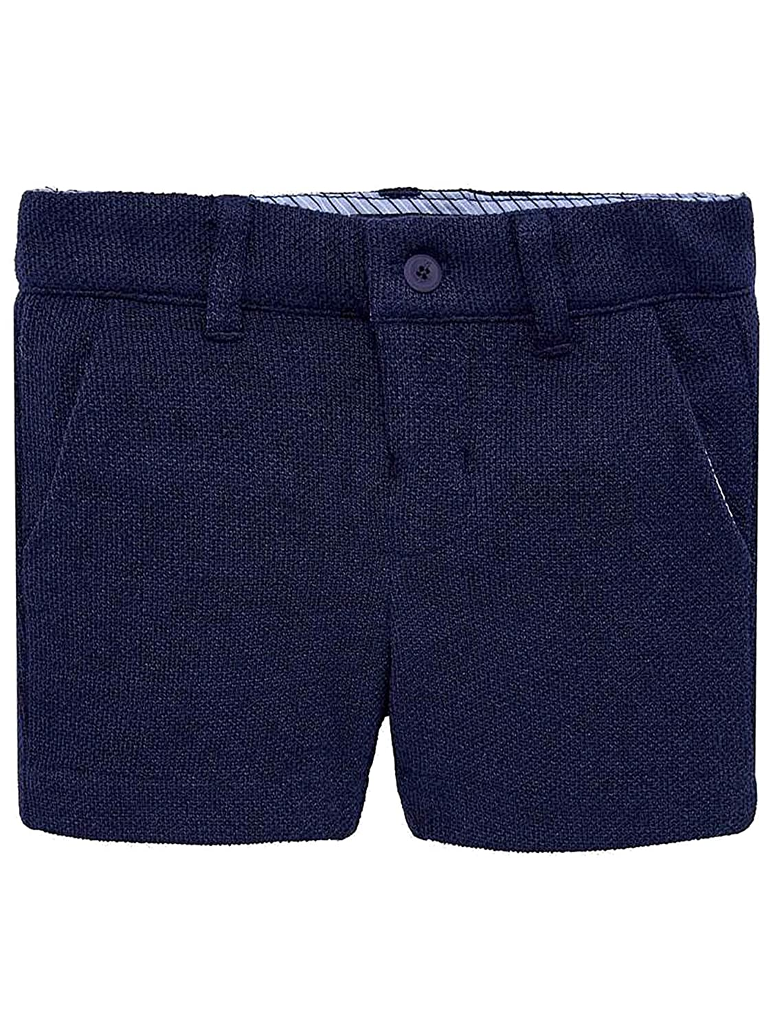 Navy 1237 Dressy Bermudas for Baby-Boys Mayoral