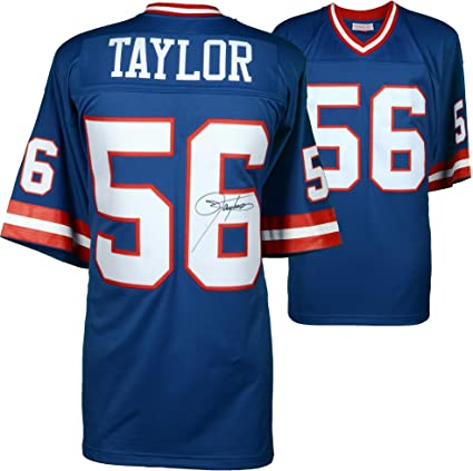 a330027bc Image Unavailable. Image not available for. Color  Lawrence Taylor New York  Giants Autographed ...