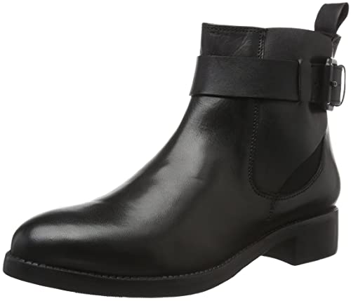 Womens Chelsea W/Strap Detail 27-48926 Ankle Boots Bianco wRag5d9