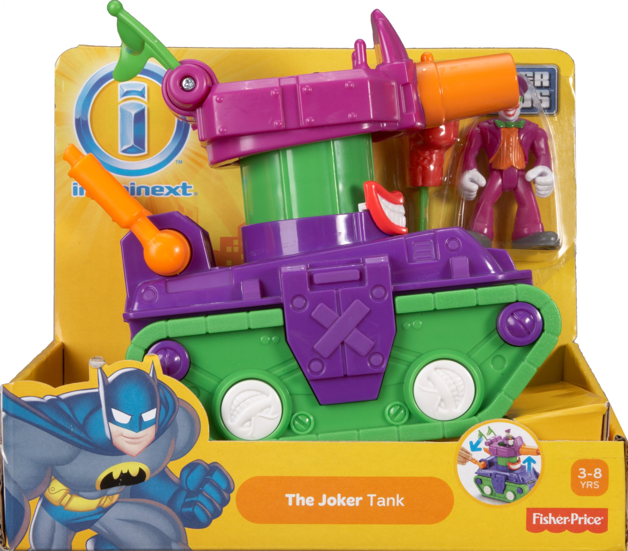 Fisher-Price Imaginext DC Super Friends, Joker Tank by Fisher-Price (Image #5)