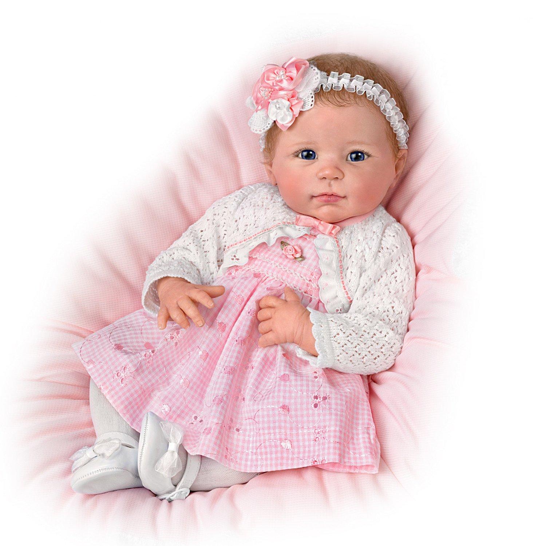 Ashton Drake Linda Murray 10th Anniversary Lifelike Baby Girl Doll by The Ashton-Drake Galleries