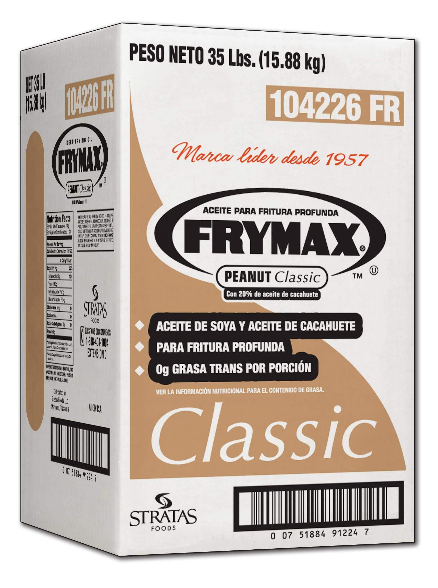 Frymax Classic Peanut Oil, 35 Pound -- 1 each. by Stratas Foods